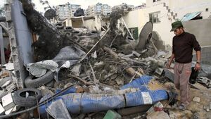 Rockets hit Israel after Gaza raid