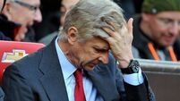 Isolated Wenger left to carry can