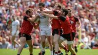 Harte's half-time hairdryer smartens up Tyrone