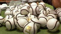 Three different sliotars for Páirc Uí Chaoimh double-header