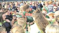 Mayo star Aidan O'Shea 'zoned out' from Bernard Flynn autograph storm