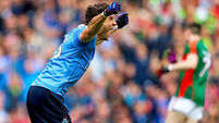 Bernard Brogan 'ships two or three kilos' to stay competitive