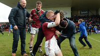 Chrissy McKaigue stars as Slaughtneil prevail