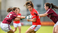 Succeeding captain Roisín had Bríd O'Sullivan wary