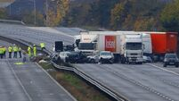 UK motorway pile-up 'worst for two decades'