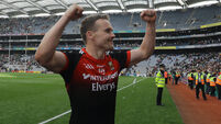 Mayo's Andy Moran celebrates after the game 26/8/2017