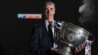 Jim McGuinness always on the move
