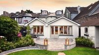 This Cork Harbour home is fitted with finery and boasts a view to match