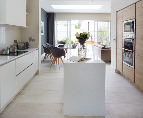 A kitchen designed by Optimise at Killiney, Co Dublin.