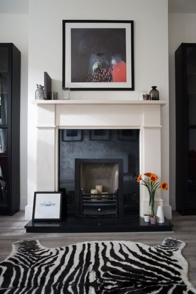 Room Revival: Inexpensive items such as framed prints allow you to switch up the décor of a room quickly and cheaply.