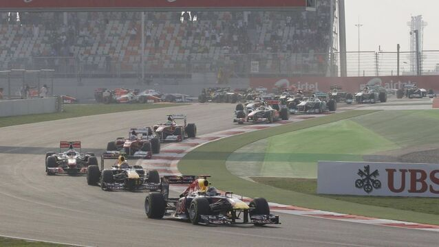 Vettel wins inaugural Indian GP