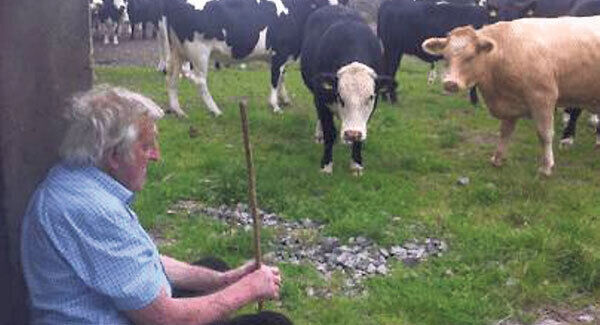 The late Willie Slyne of Aherla, Co Cork, whose warm nature and stories will be sadly missed at local marts.