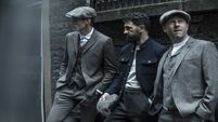Paul Galvin playing a fashion Blinder