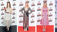 On the red carpet: Felicity Jones, Anya Taylor-Joy, Laura Carmichael, Katy Perry