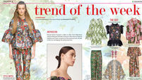 Trend of the week: Flower power