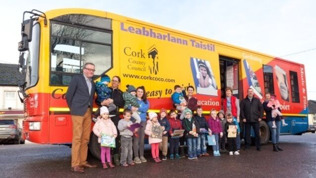 Mobile library on the move to bring joy to Cork communities