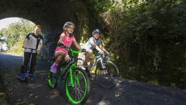 Spin-off success of the Waterford Greenway cycle path