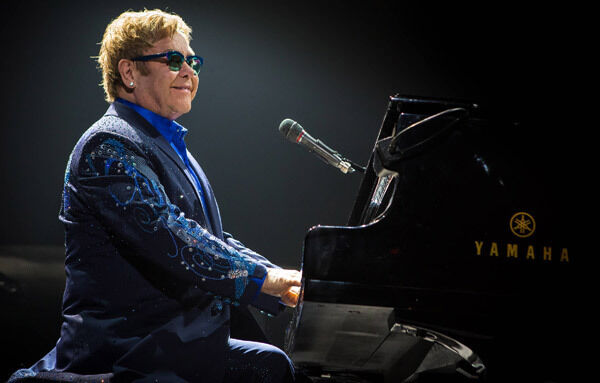 Elton John returns to Live at the Marquee this month.