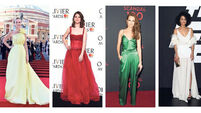 On the red carpet: Amanda Holden, Rose Leslie, Darby Stanchfield and Nathalie Emmanuel
