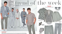 Trend of the week: Men's suits