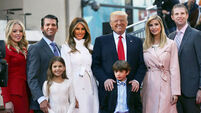 How will Donald Trump's children mark Father's Day?