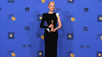 Case of third time's a charm for Saoirse Ronan at  Golden Globes