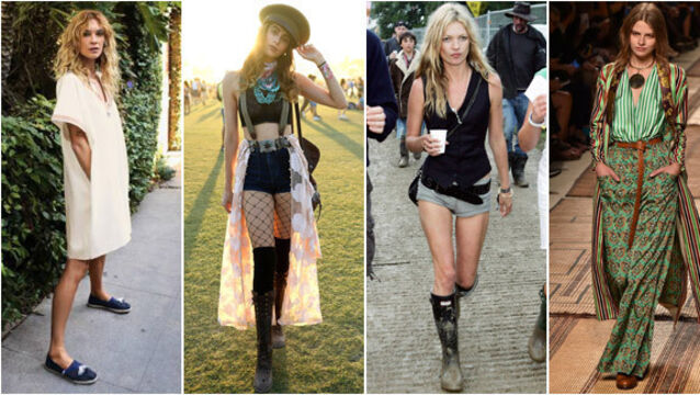 Style evolution: Four new festival fashion looks