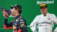 Max Verstappen under the spotlight