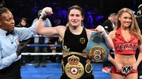 Katie Taylor: 'I might have chocolate cake and a few Coca-Colas'