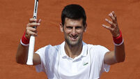 Novak Djokovic safely into round three of French Open
