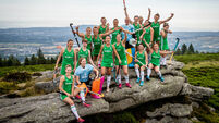 The Ireland Women's Hockey Team at today's announcement 26/6/2018