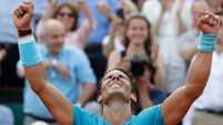 Ruthless Rafael Nadal saves his best for last at French Open
