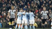 Man City juggernaut starts to accelerate after brief skid