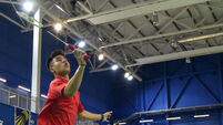 Nhat Nguyen: 'I try to do homework but my teachers know my focus is badminton so they're lenient'