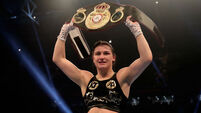 Katie Taylor vows to unite titles in New York