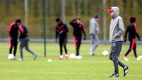 Arsenal Training Session - London Colney