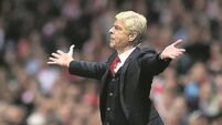 Pressure back on Wenger as Gunners all out of ideas