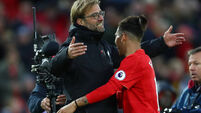 Klopp proud of Firmino's conduct during racism cloud