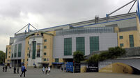 Chelsea Football Club stadium stock - Stamford Bridge