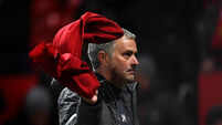 Jose Mourinho throws in the towel in race for the title
