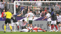 French shine as Ireland challenge a damp squib