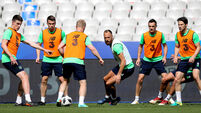 Declan Rice, Seamus Coleman, David Meyler and Harry Arter 27/5/2018