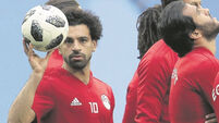 Egypt boss Cuper keeps Russia guessing over Salah fitness