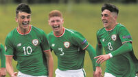 Parrott and Idah fire Ireland U-17s to last eight in Euros