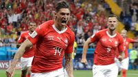 Switzerland's Zuber spoils the party for wasteful Brazil