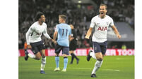 Kane drags Spurs over finishing line