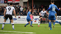 Dundalk defeat huge setback for Blues