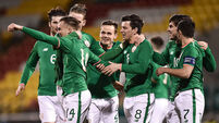 Rory Hale wastes no time in making an impression for Ireland U21s
