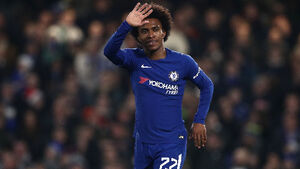 Willian winds up for the 'perfect game'