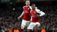 Arsenal grateful to falling idol Welbeck as Gunners see of Milan